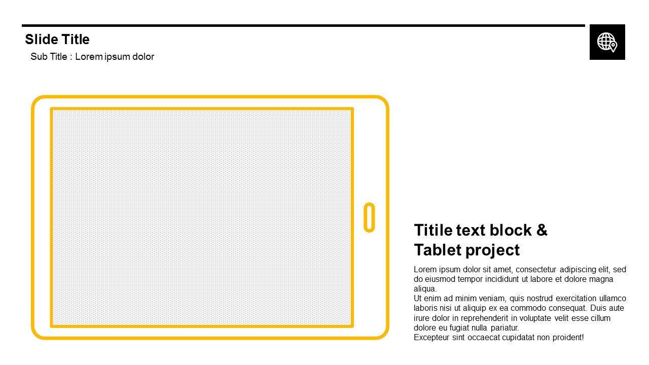 DEVICE LINE and Image Free Powerpoint Templates