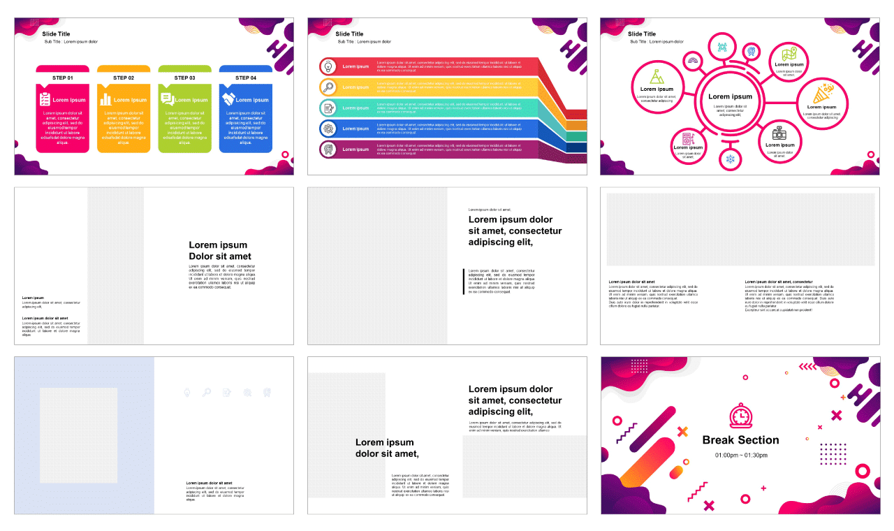 Geometric Abstract Free Google Slides theme and Powerpoint template
