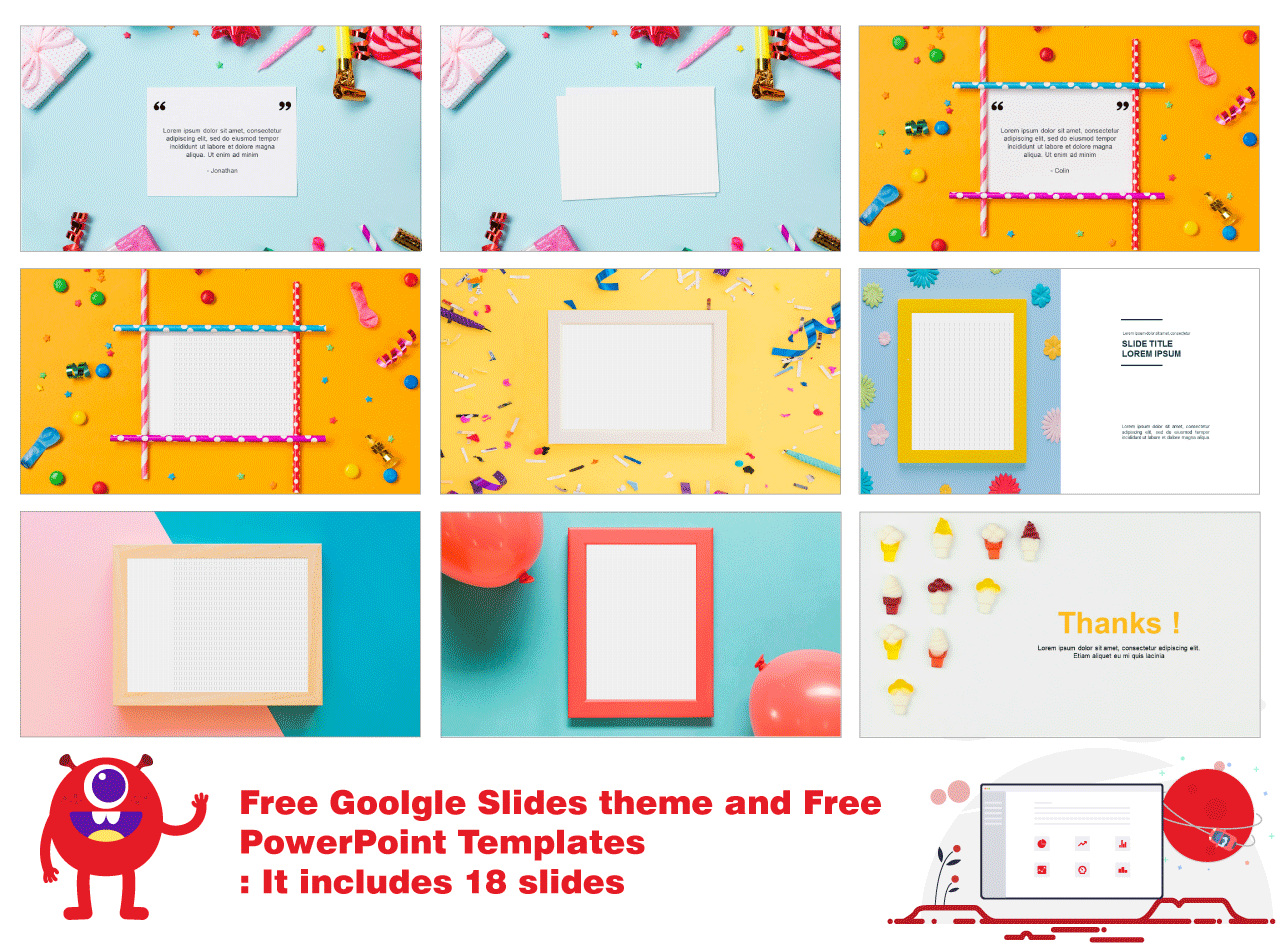 Google sides theme and Free powerpoint presentation Templates
