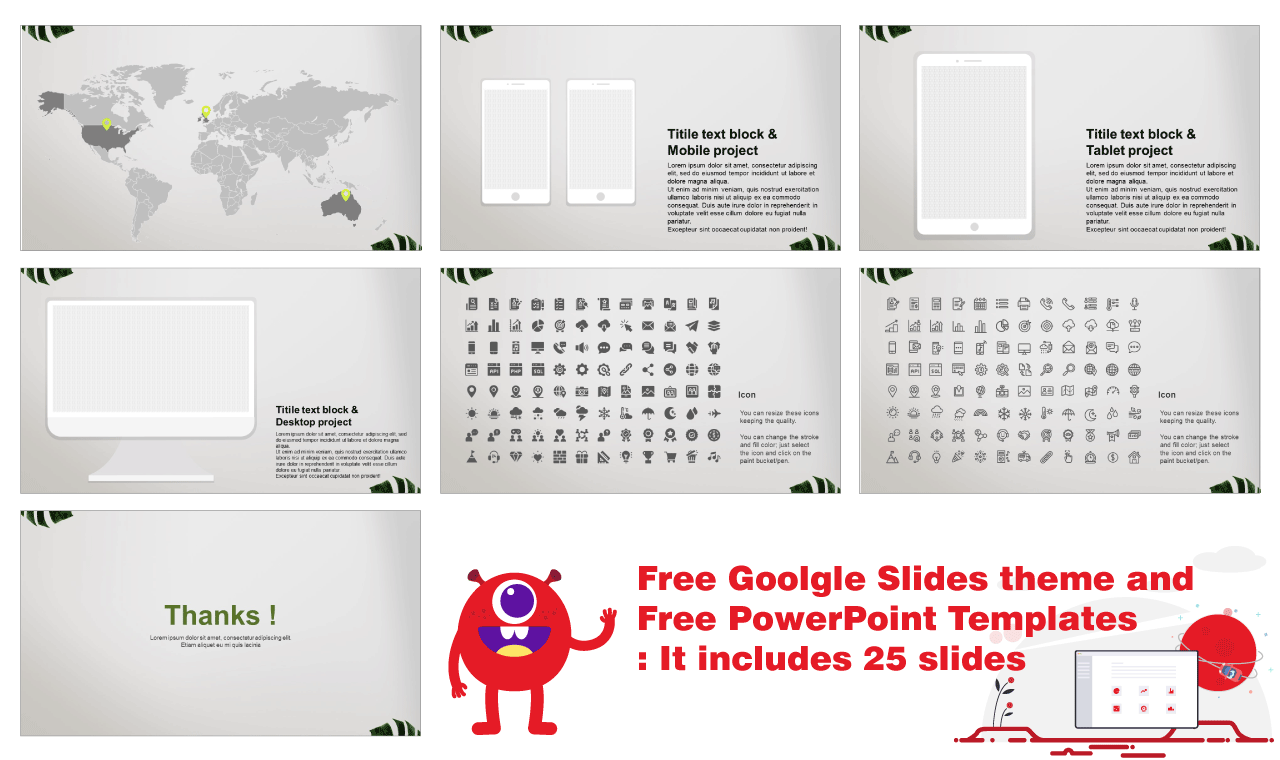 Google slides theme and free powerpoint design idea template