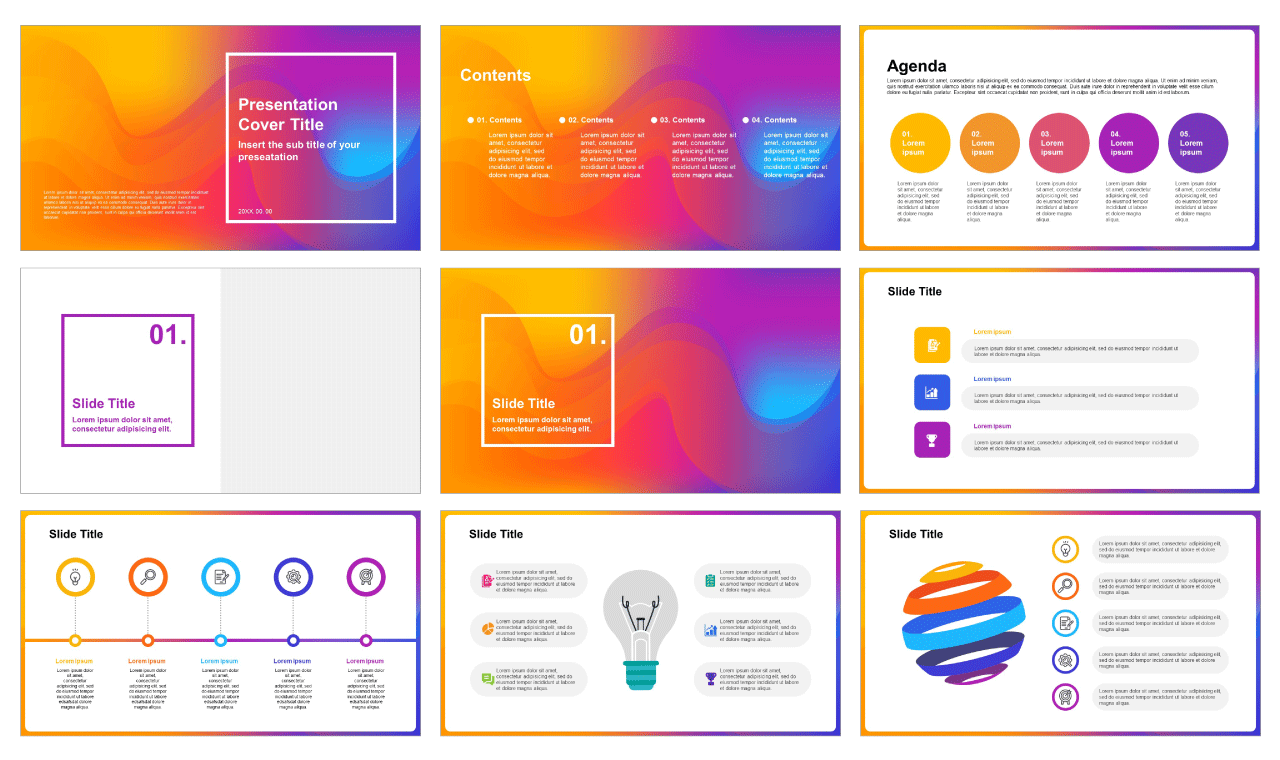 Free Google slide theme and PPT templates