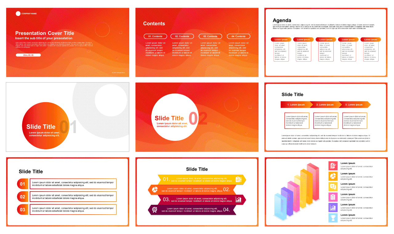 RED MODERN CONCEPT Free Google slide and free Powerpoint Templates - image1