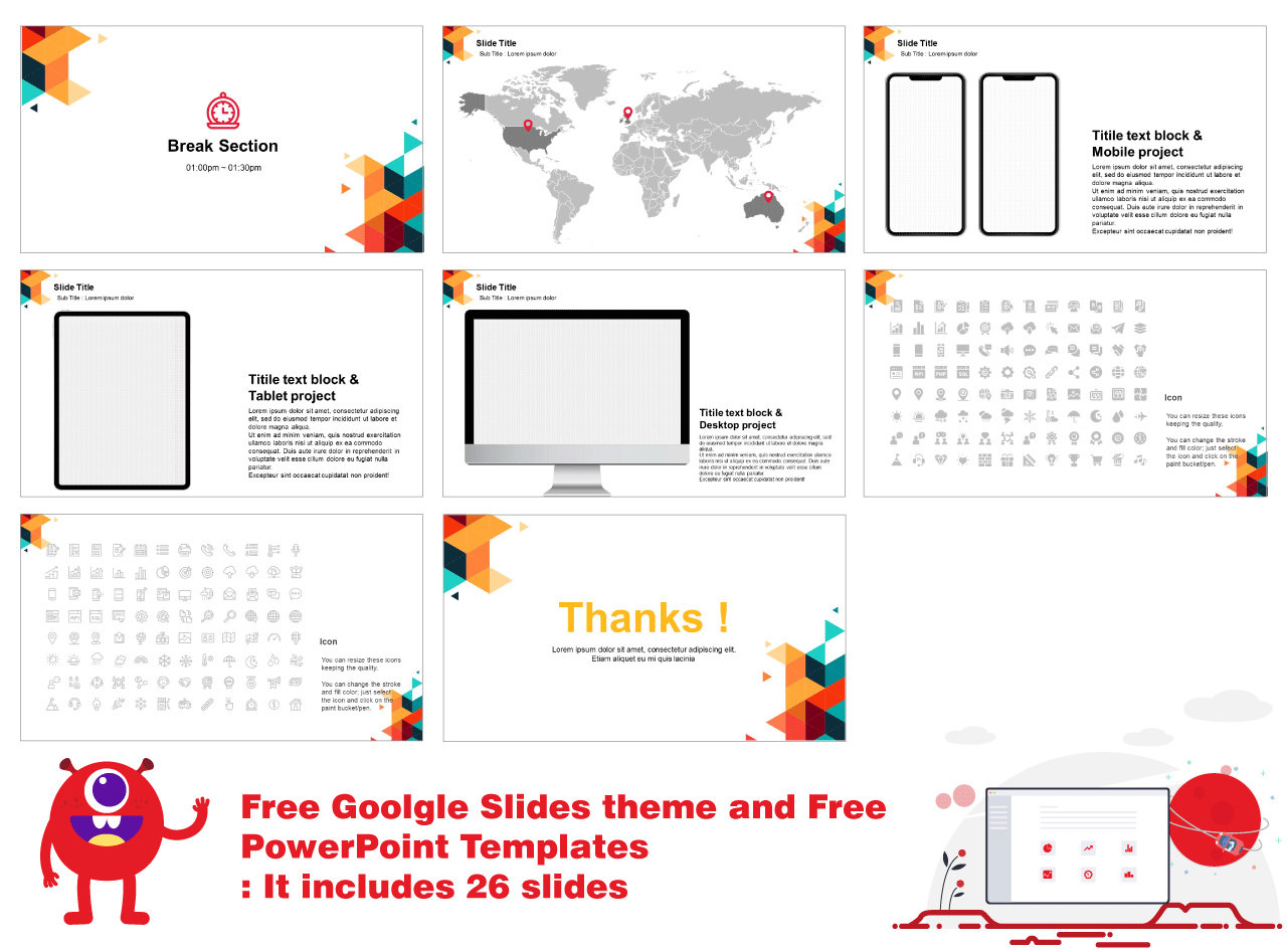 business Free powerpoint Templates