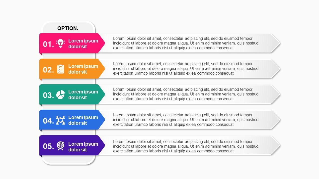 option 5 steps Roadmap Timeline