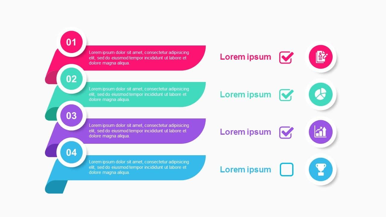 Checklist 4 Steps Text Box