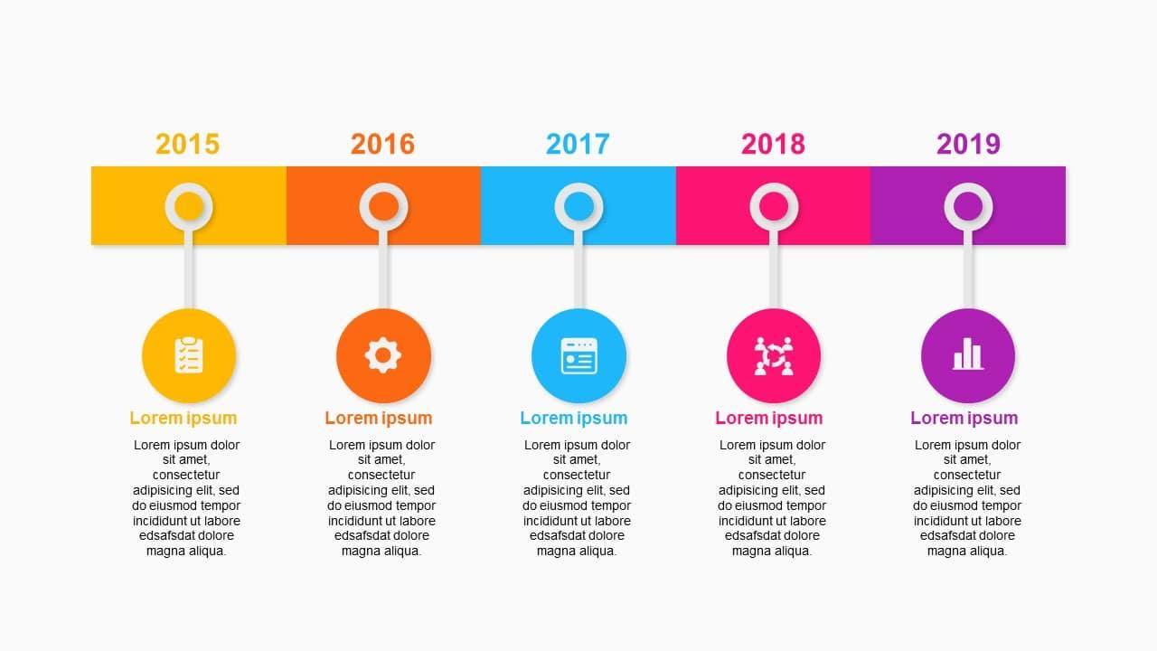 Simple 5 year Roadmap Timeline