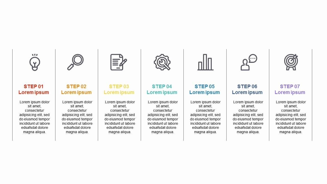 ICON 7 Steps Timeline