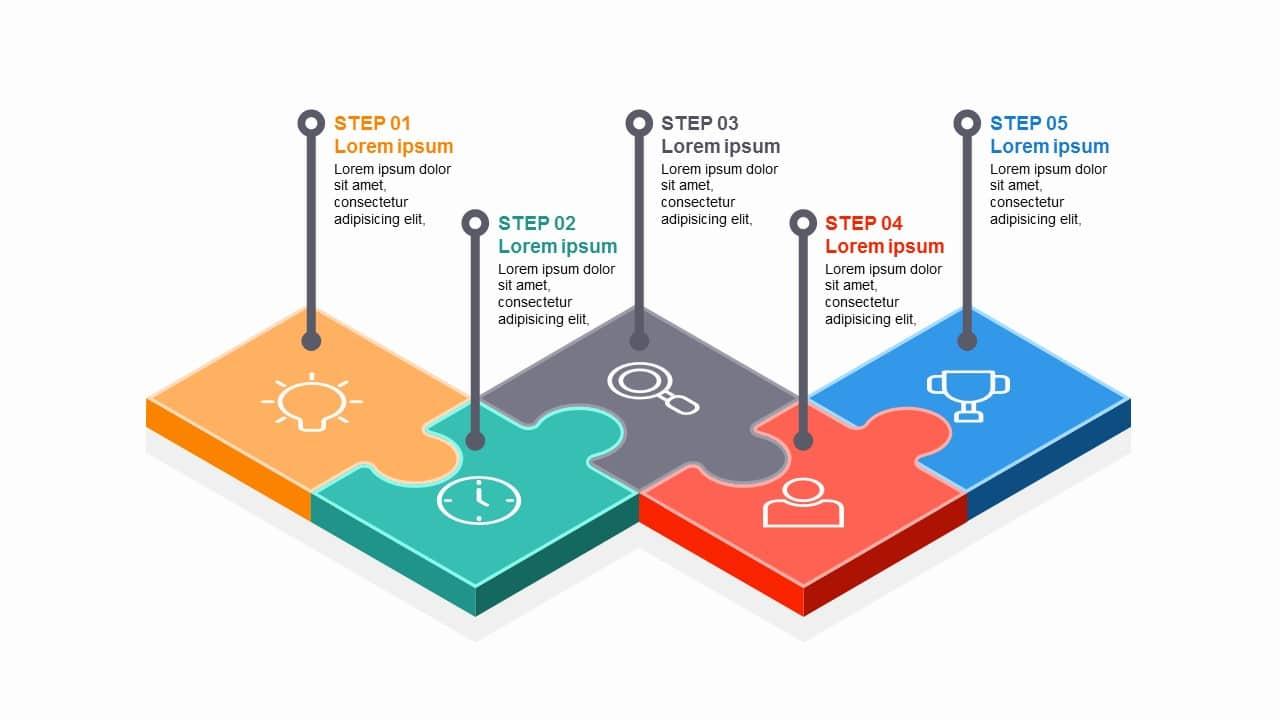 5 Steps Diagram
